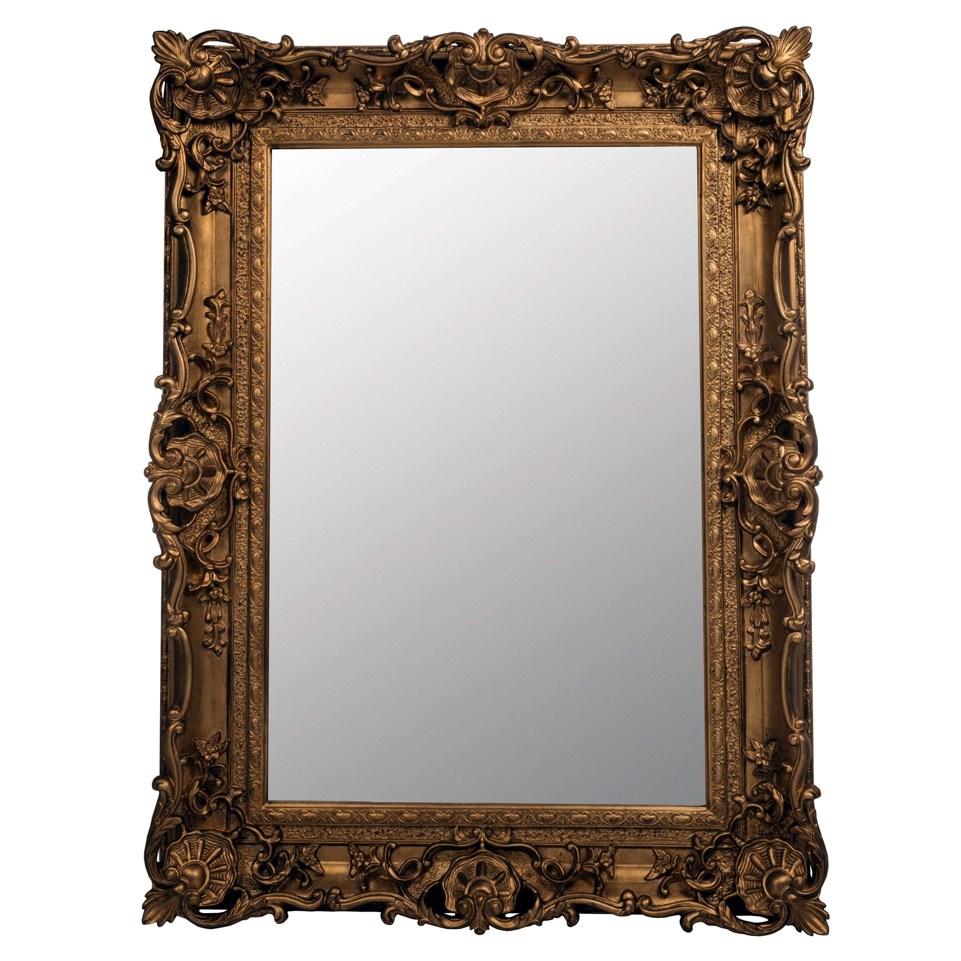 Gold Frame Mirror – Exclusive Interiors Malta