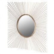 Square Spiky Mirror Dimensions: H: 1030mm W: 1030mm